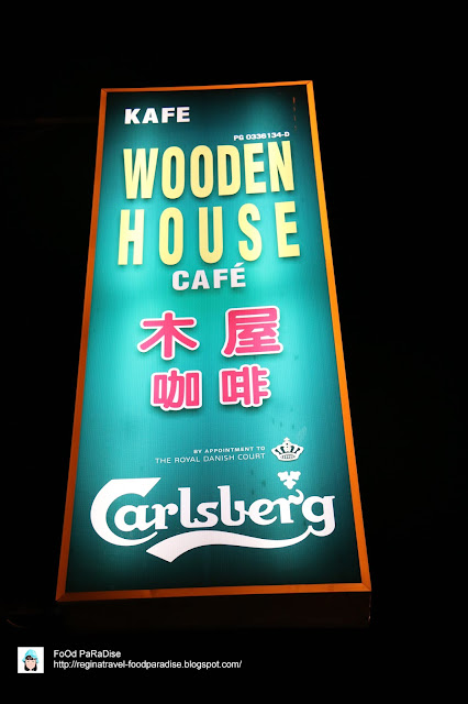 Wooden House Cafe 木屋咖啡 @ Chew Jetty, Weld Quay, Penang.
