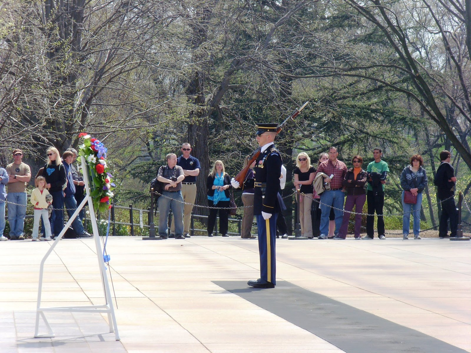 Changing of the Guard at Tomb of the Unknown Soldier
