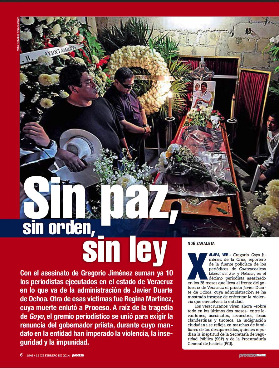 Proceso 1946 Veracruz: Estado sin Ley Místicos y Terrenales