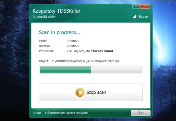 برنامج Kaspersky TDSSKiller  شرح وتحميل