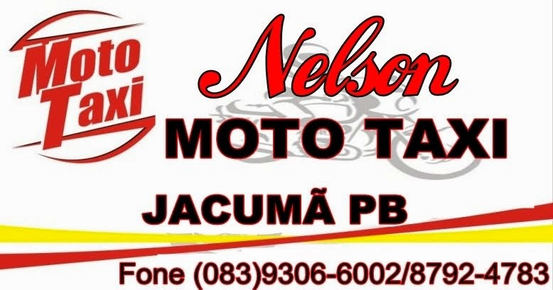 Nelson Moto taxi Jacumã