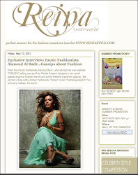 IN THE PRESS: Reina Swimwear interview