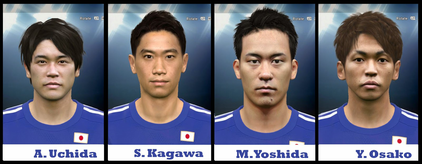 PES 2015 Japan Facepack V2 by AMussoullini