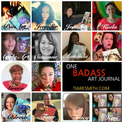 One Badass Art Journal
