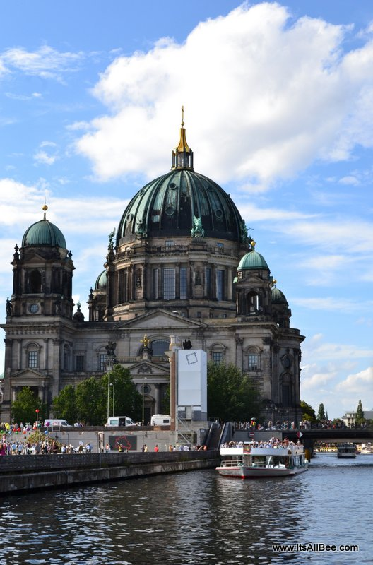 Berlin Dome -  View from River Cruise
