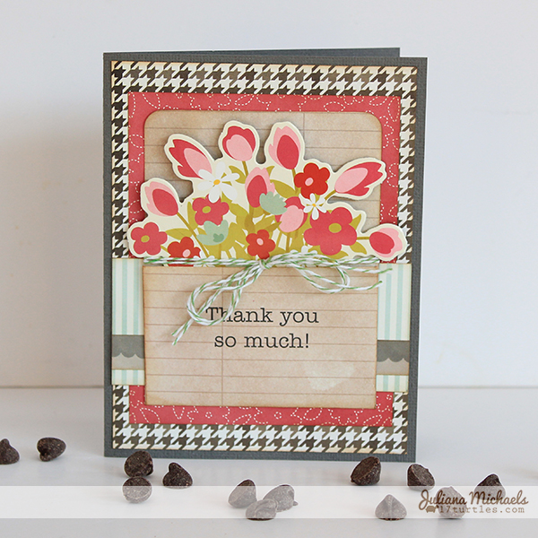 Front Porch Thank You Card by Juliana Michaels