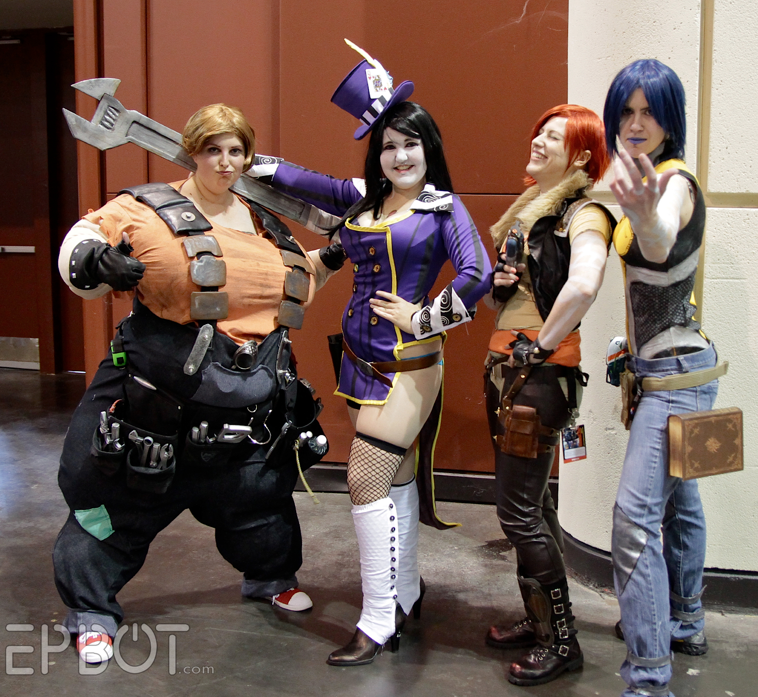 borderlands 2 mother of cosplay gaming