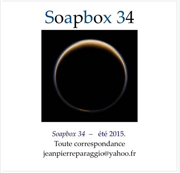 SOAPBOX 34, Feuillet de l'UMBO, ART & POÉSIE