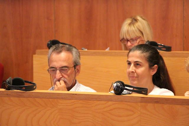 Suances, junto a la concejala Ana Belén Quijada