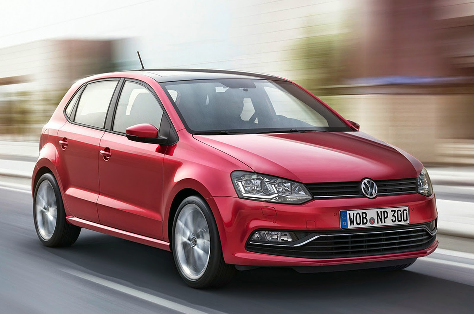Volkswagen polo facelift HD Wallpaper