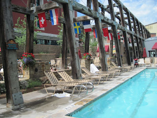 pool Park City at the Marriott