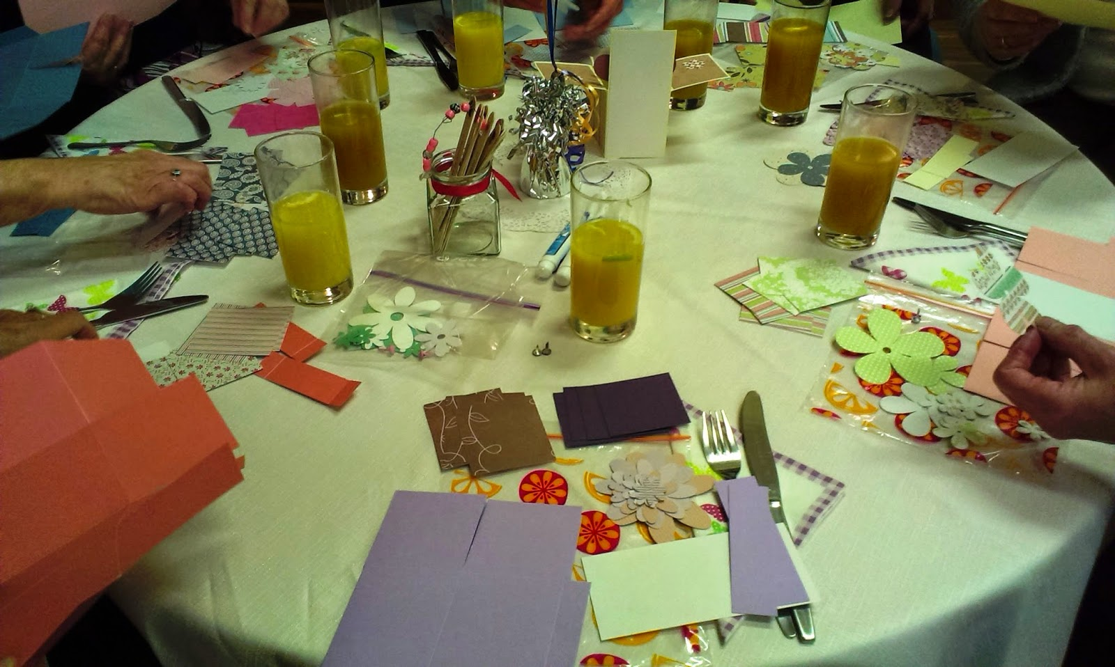 Church craft evening