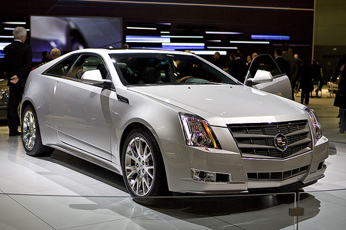 Look At the Car: 2013 Cadillac CTS [coupe]