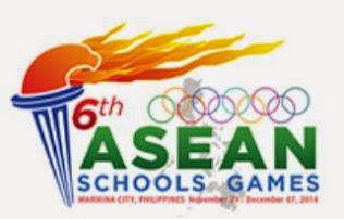 6th ASEAN School Games - Philippines 2014