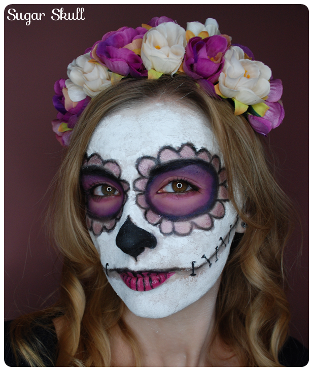makijaż na przbieraną imprezę