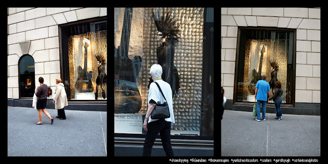 Fans of Just a Mannequin Sporting a Mohawk II, #BGWindows, Bergdorf Goodman, NYC