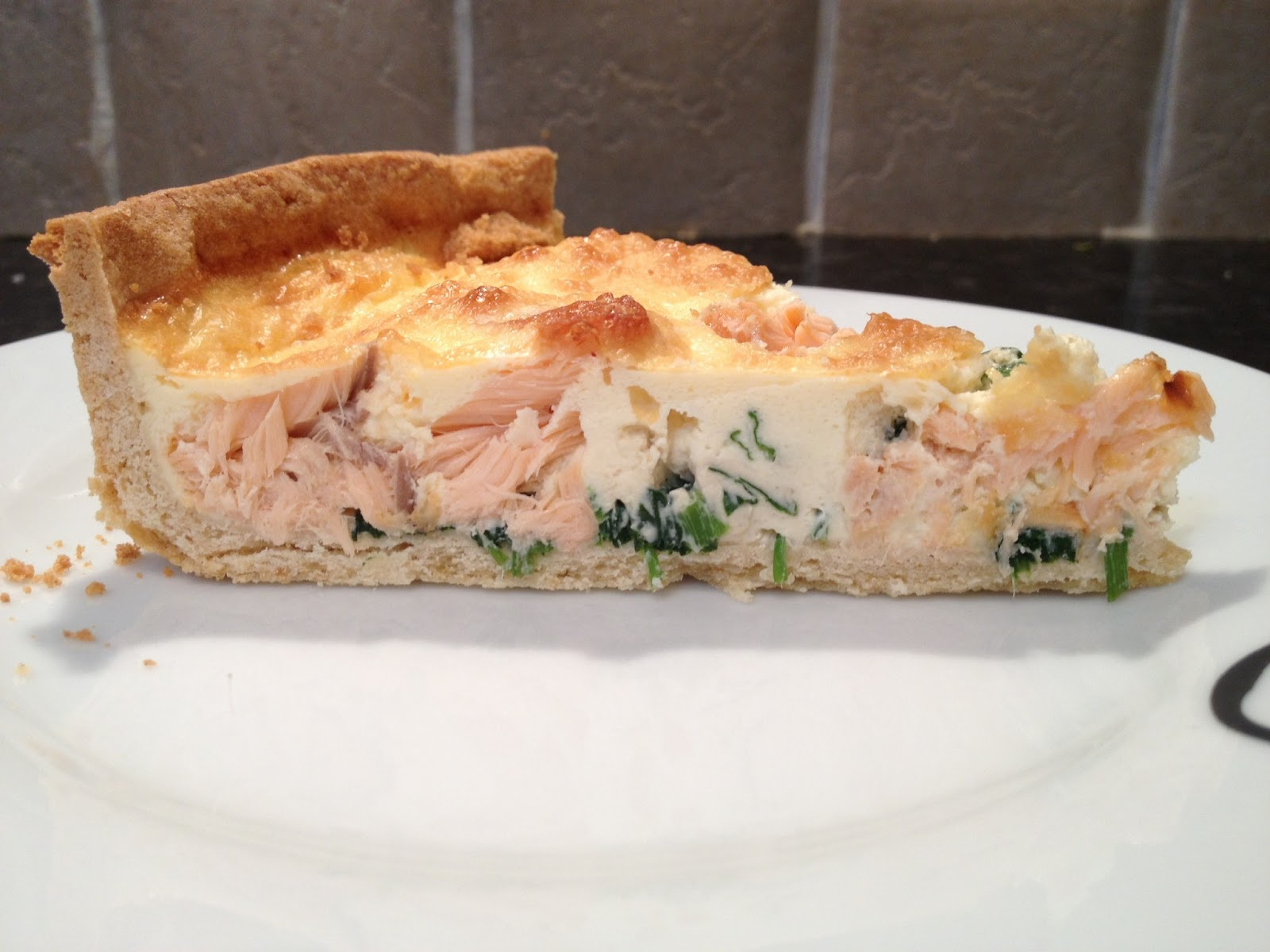 Rachel's Foodie Bite: Smoked Salmon and Watercress Quiche
