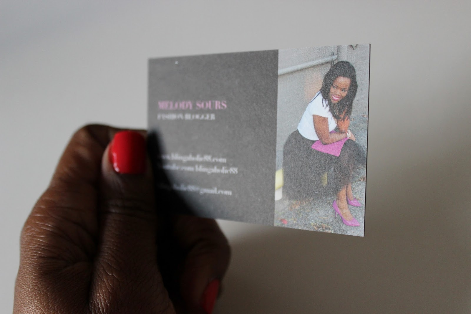 Do fashion bloggers just starting out really need business cards ...