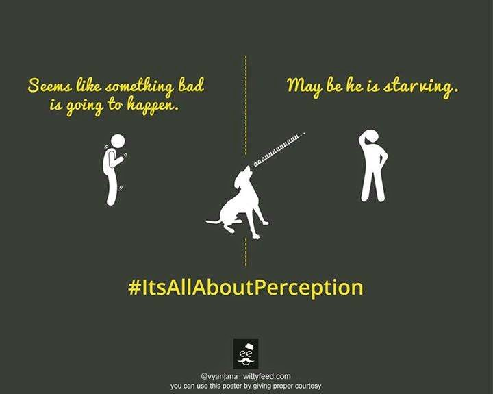 Superstitions is your perception