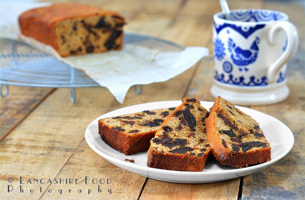 Prune and raisin loaf cake - gluten free
