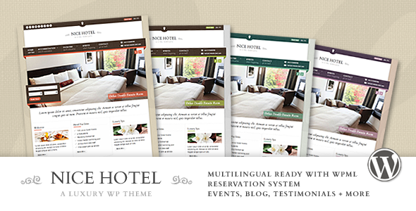 ThemeForest - Nice Hotel - WordPress Theme