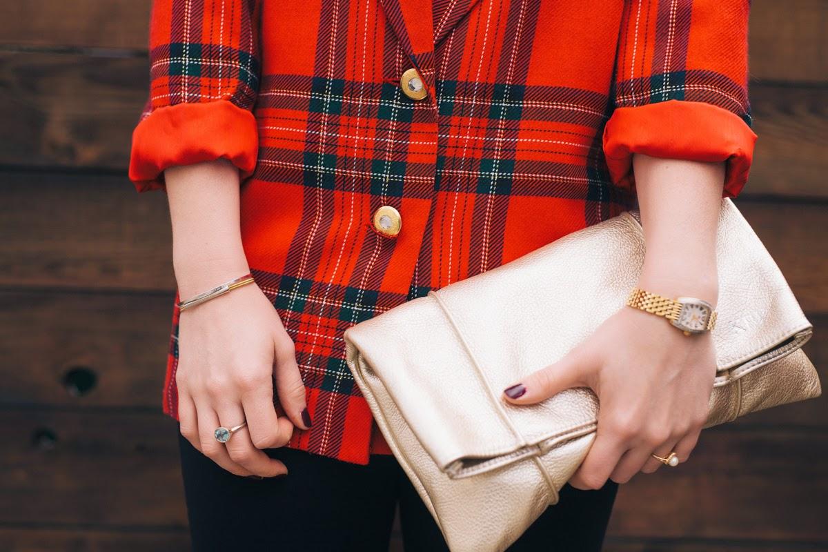 Ceri Hoover, Platinum Clutch, Holiday Accessories