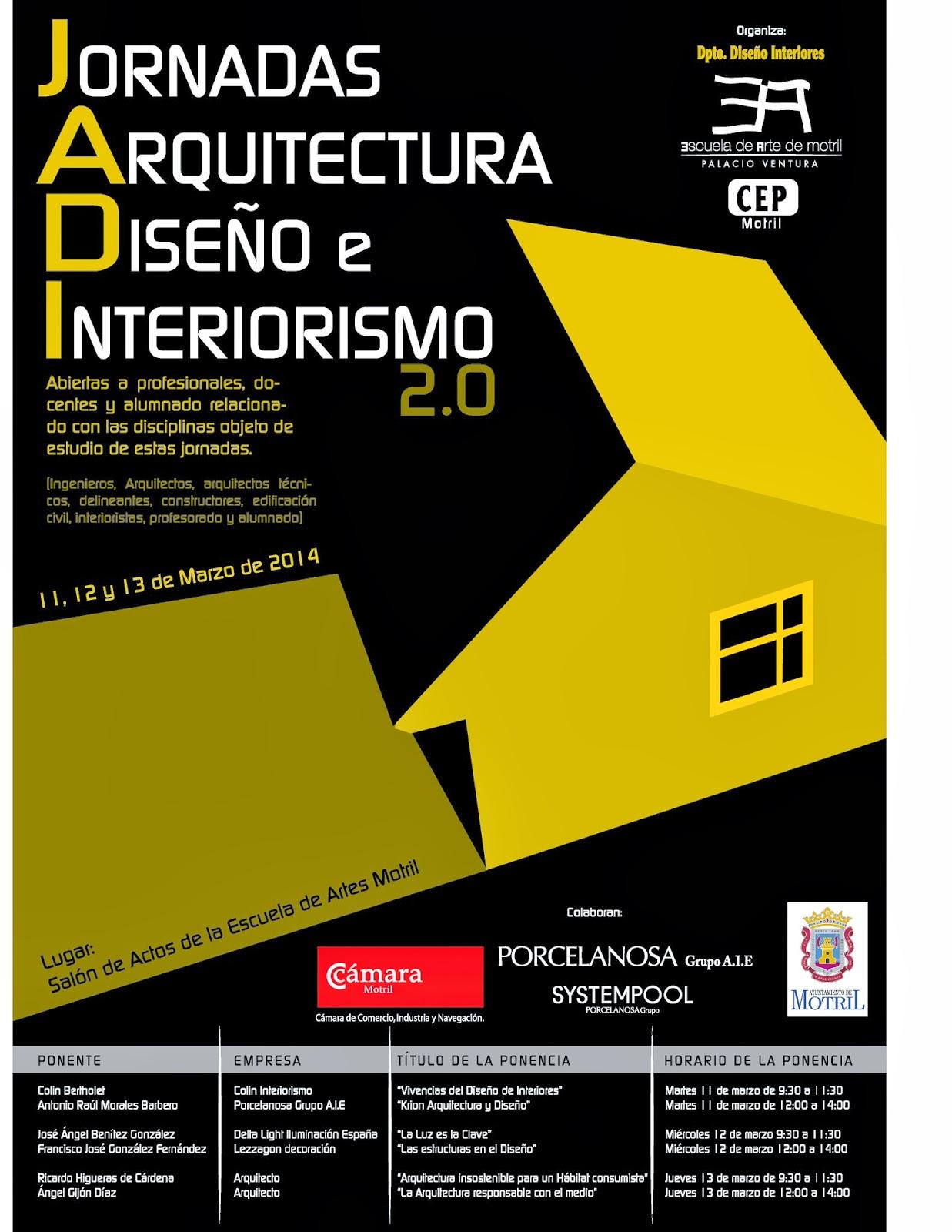 Dise o de interiores escuela de arte de motril 2 - Diseno y arquitectura de interiores ...