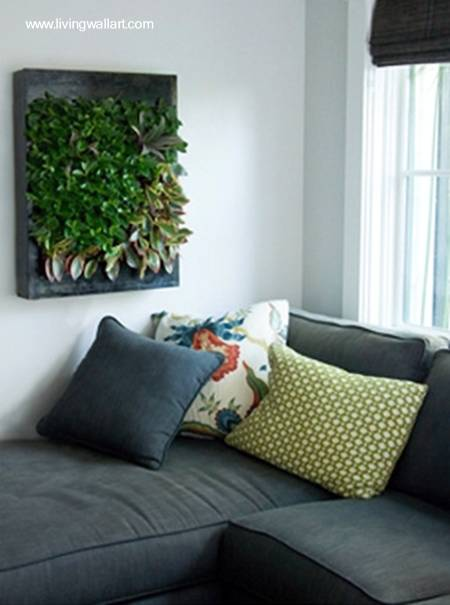 Arquitectura de casas jardines verticales en interiores for Jardin vertical interior casa