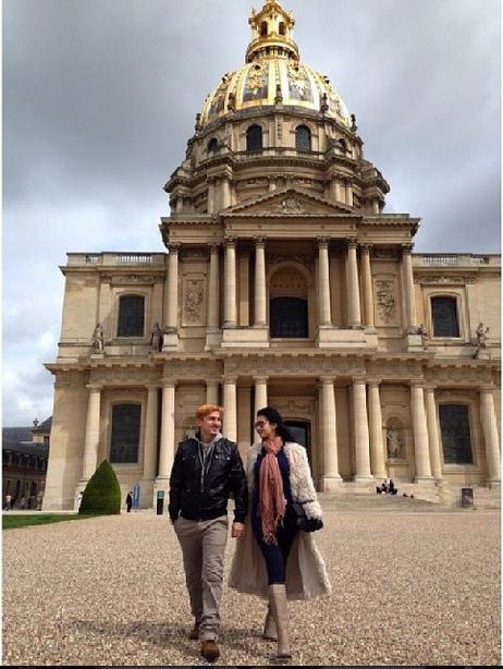 Gambar Menarik Percutian Rozita Che Wan, Zain Di Paris