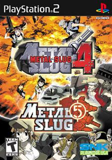 Metal Slug 4 e 5   PS2