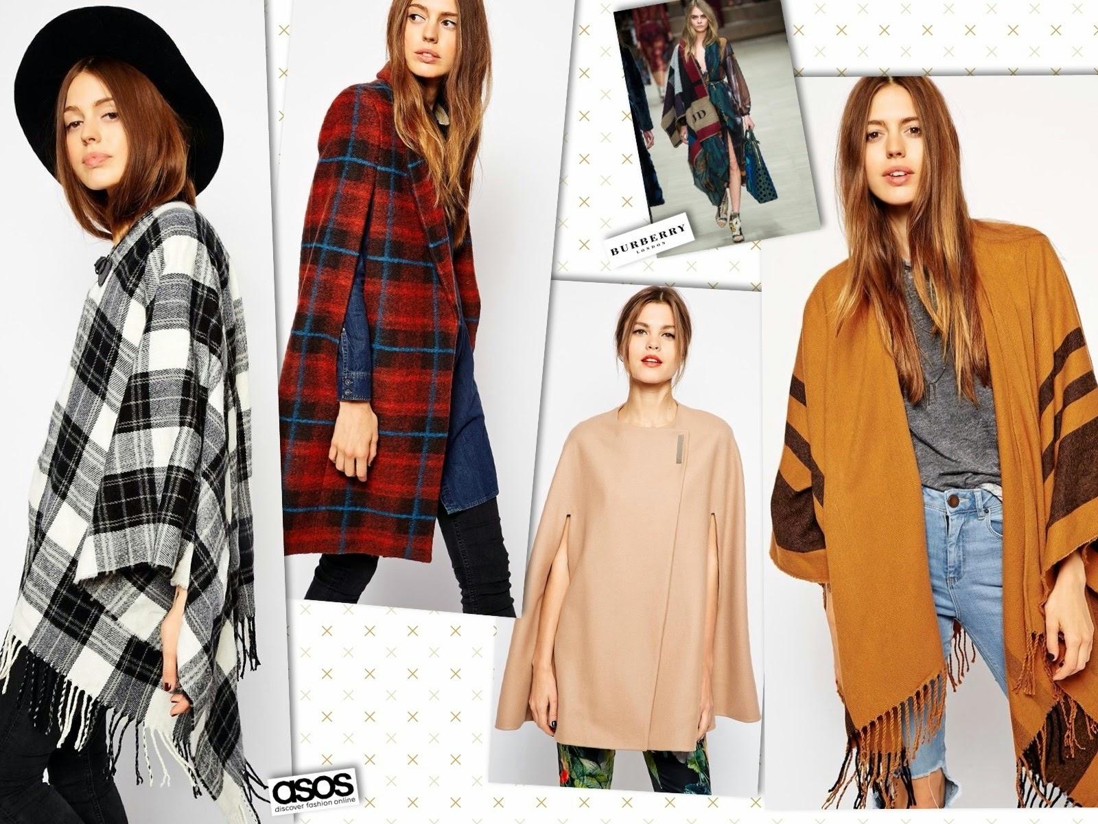 mantelle asos, cappe, inverno 2015, vestirsi inverno