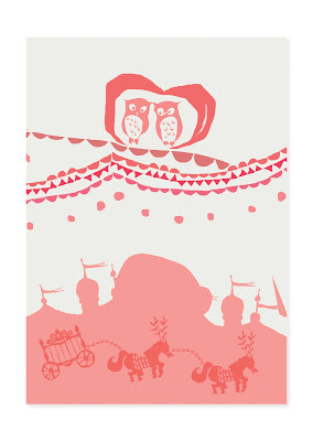 valentine card, owl, owls, silhouette, circus, love