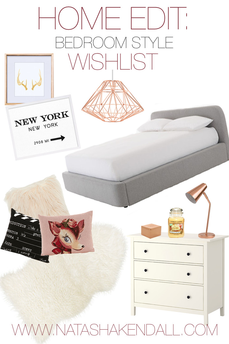 Home edit bedroom decor wishlist natasha kendall for Room decor zoella