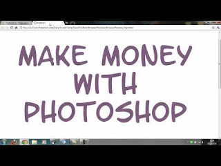how to make money with photoshop