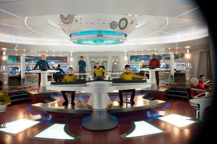 Star Trek Into Darkness Review - U.S.S. Enterprise Bridge