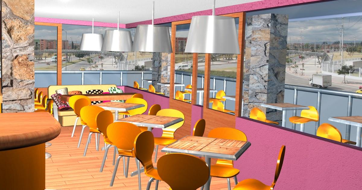 Decoraci n para restaurantes dise o de interiores y for Diseno de interiores y exteriores