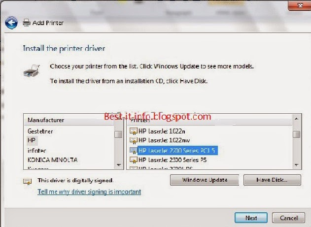 Hp Laserjet 1320 драйвер скачать для Windows 7 - фото 9