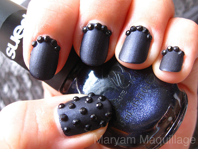 Maryam Maquillage: Black Caviar Nails