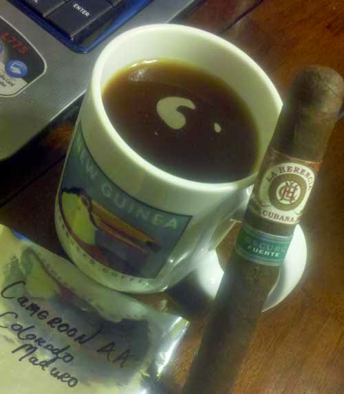 Cameroon AA Colorado Maduro Coffee By Milton Made