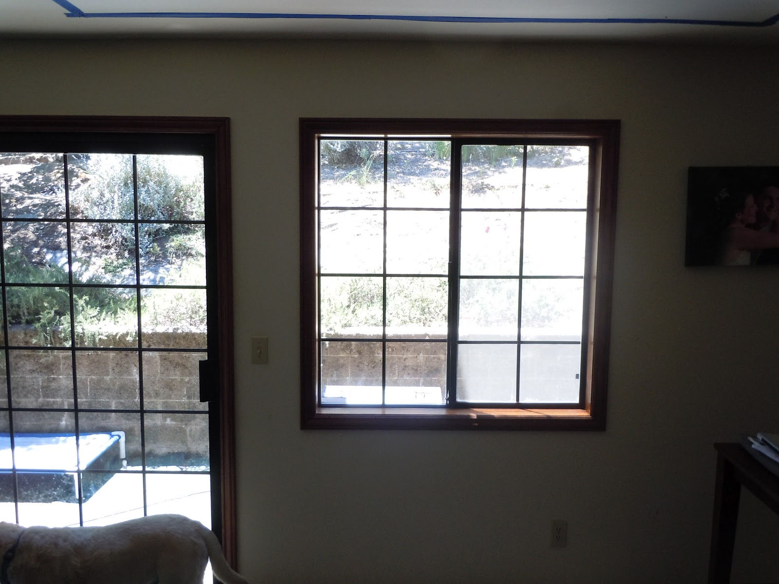 Marvin window and door installation with vycor pro for Marvin transom windows