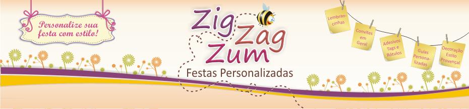 Zig Zag Zum Festas Personalizadas
