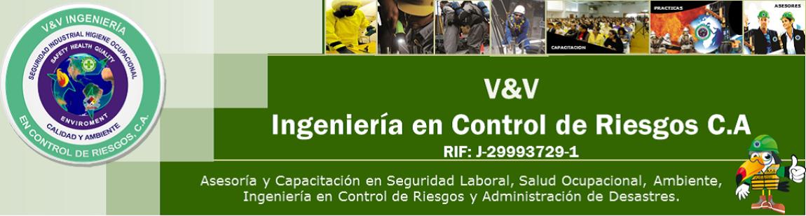 V&V INGENIERIA EN CONTROL DE RIESGOS C.A