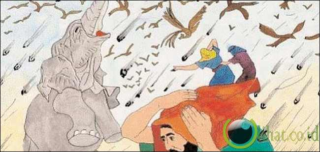 Burung Ababil Mengalahkan Abrahah