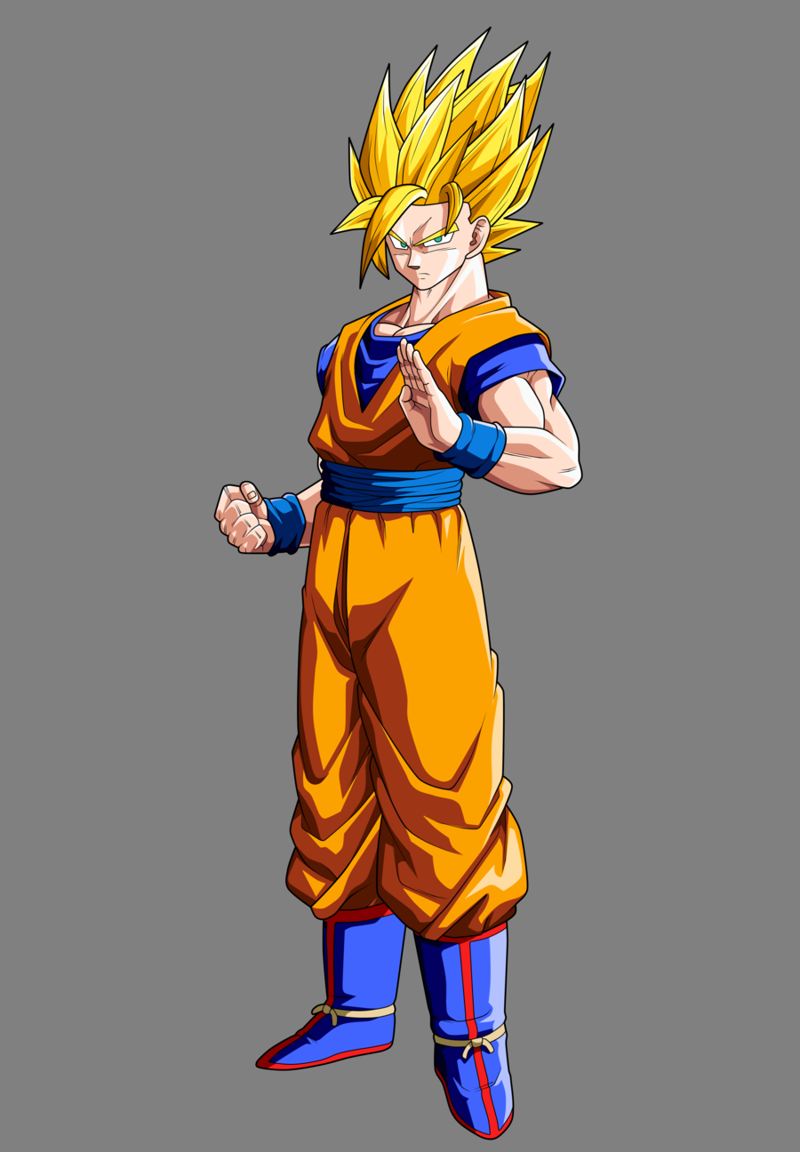 Dragon Ball Goku SSJ 2