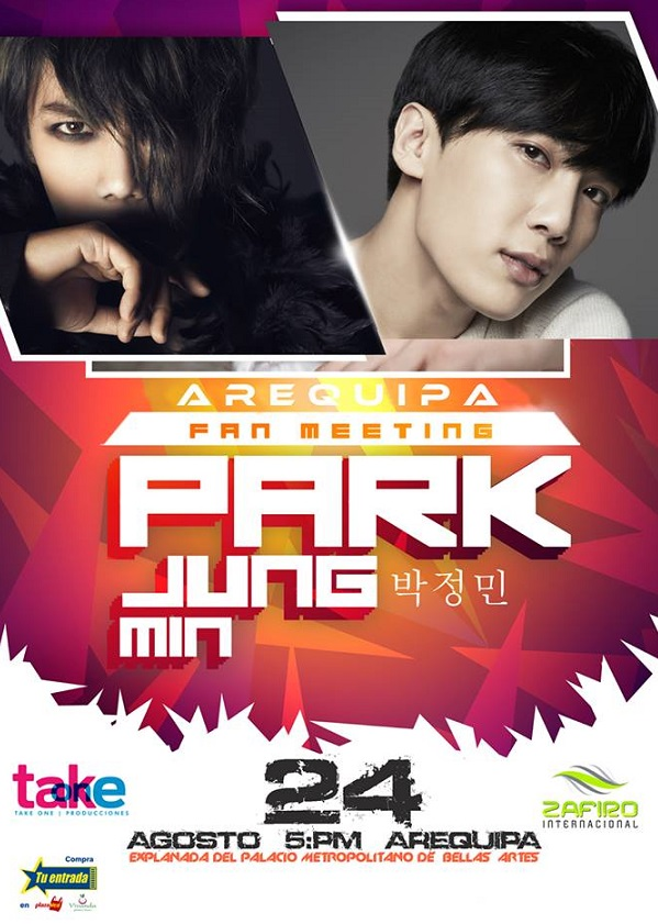 Fan Meeting Park Jung Min y Heo Young Saeng de SS501 en Arequipa - Precio de Entradas (24 agosto)