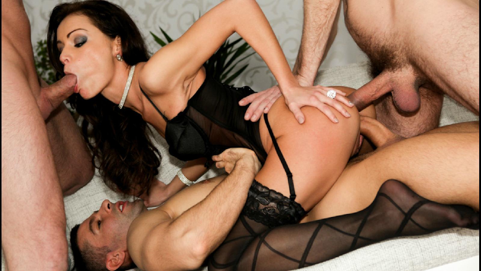 Шведский порно ганг банг 13 фотография
