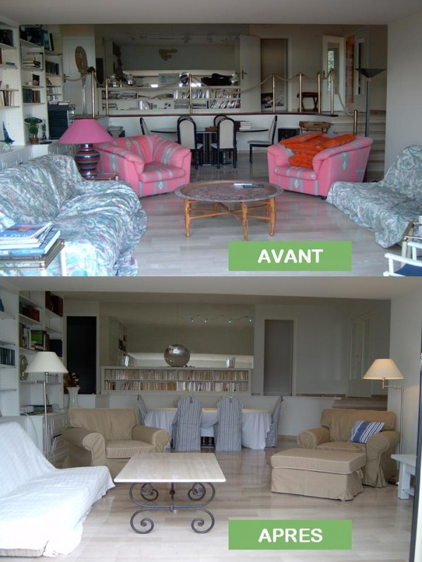 Har 39 mony home staging belle pi ce vivre avec coin cuisine salon co - Home staging avant apres ...