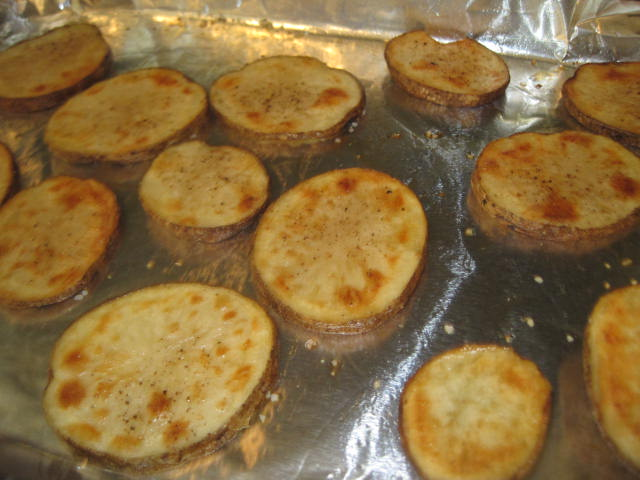 Recipes Re-Mixed: Sliced, Baked and Loaded Potato Appeteasers