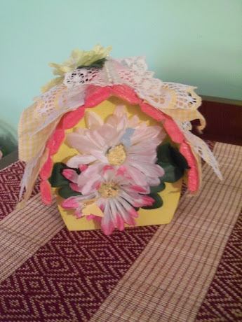 Altered Birdhouse-back view