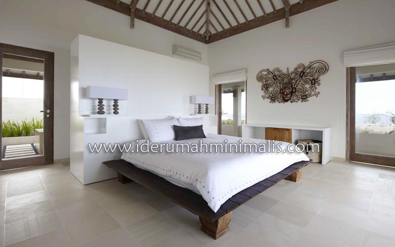 kasur mewah rumah minimalis modern